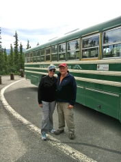 My folks in Denali after seeing grizzly bears